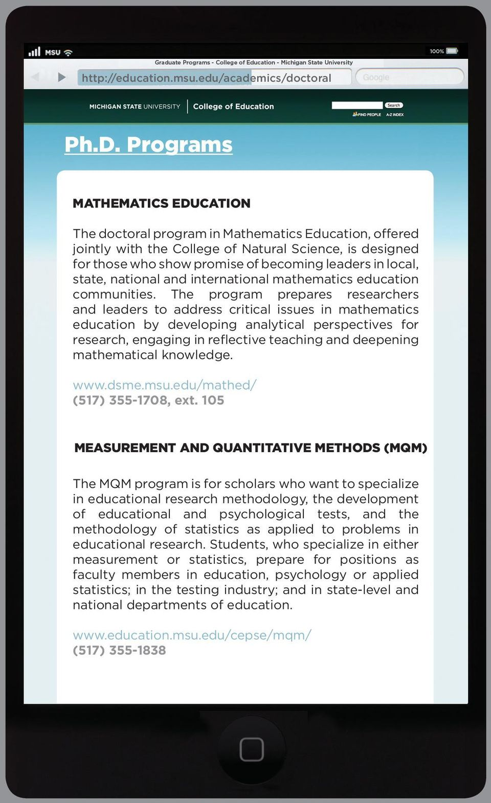 state, national and international mathematics education communities.