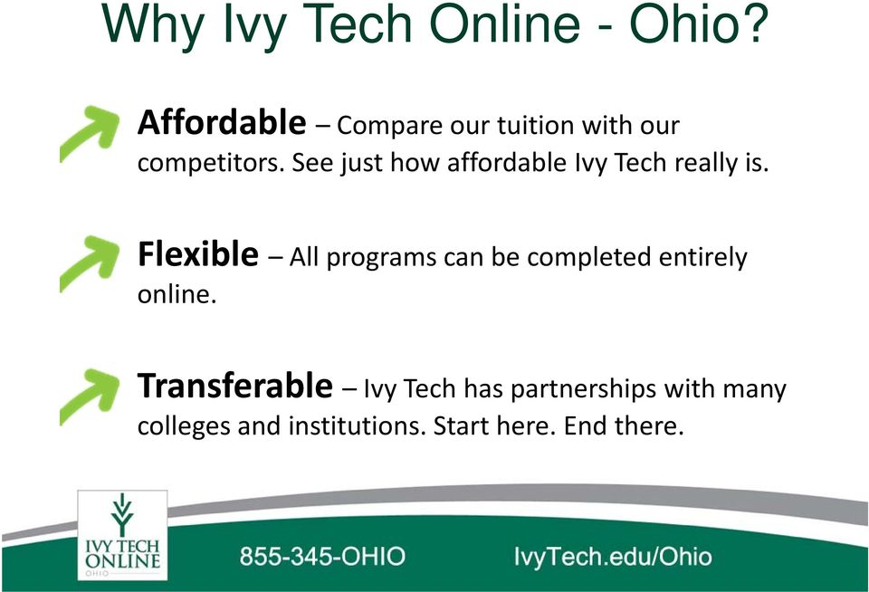 See just how affordable Ivy Tech really is.