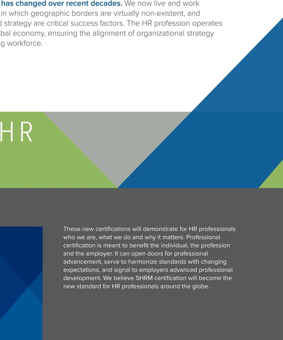 Shrm Certification Next Generation Credentials For Hr Professionals