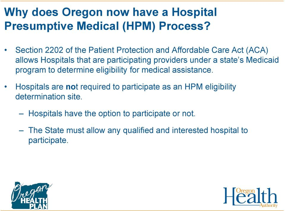 under a state s Medicaid program to determine eligibility for medical assistance.
