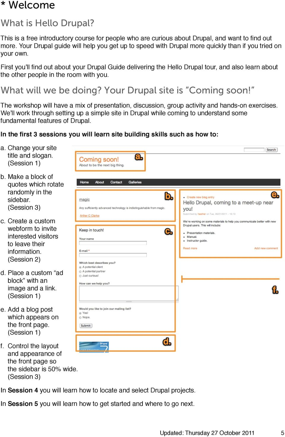 how to find stats on a drupal site