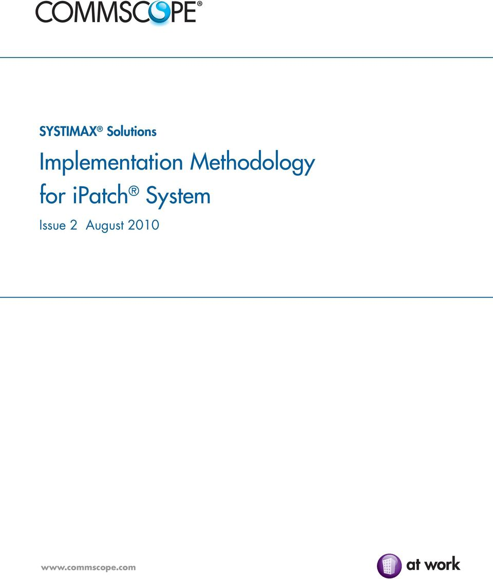 Methodology for ipatch