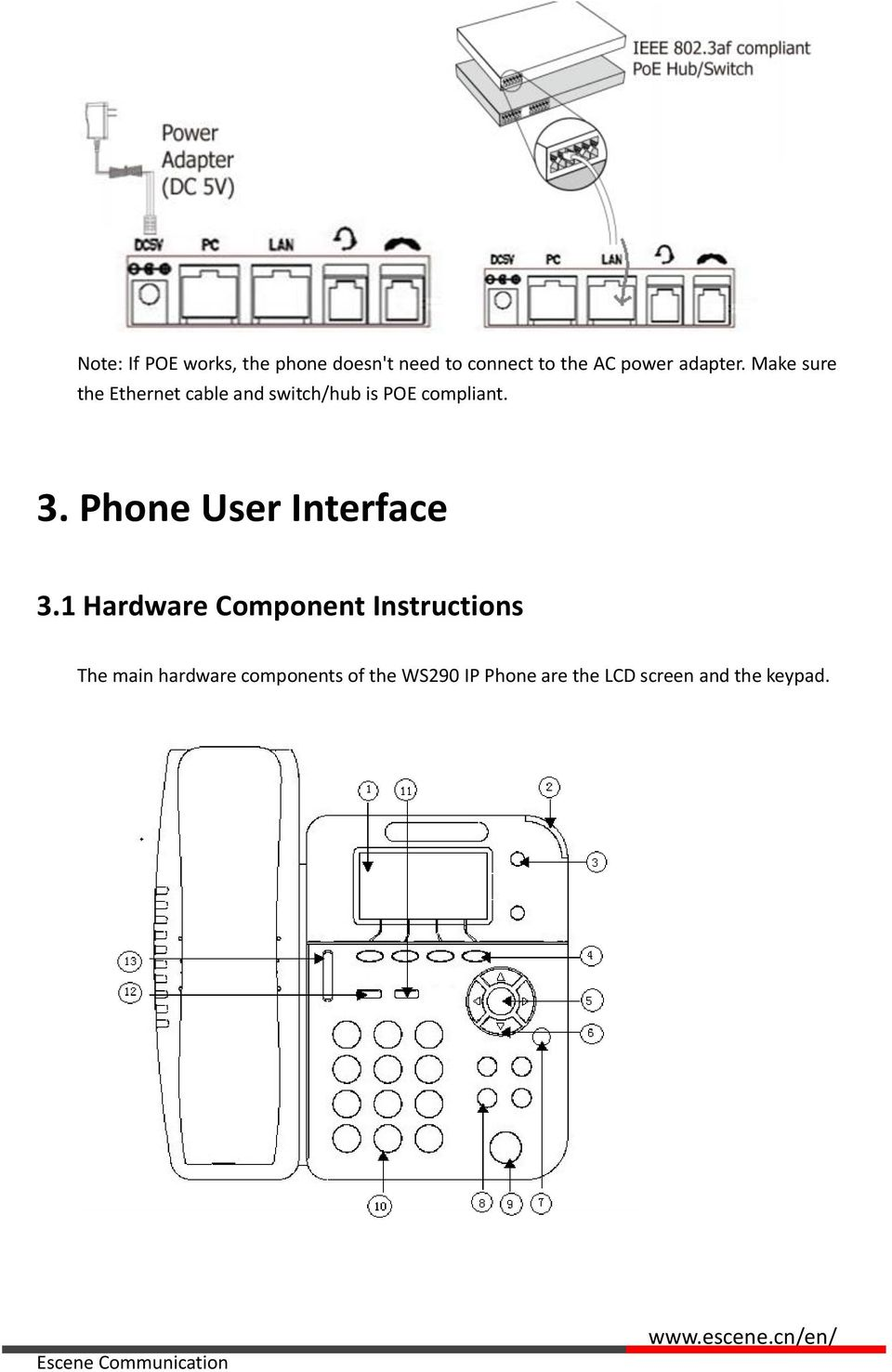 3. Phone User Interface 3.
