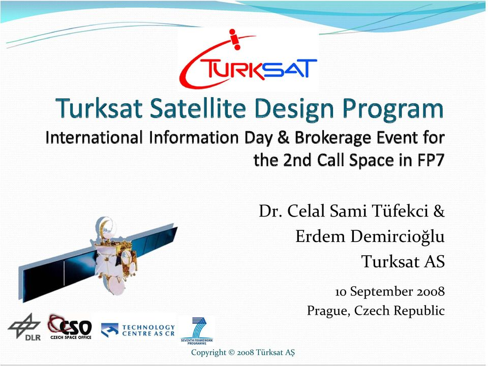 Turksat AS 10 September