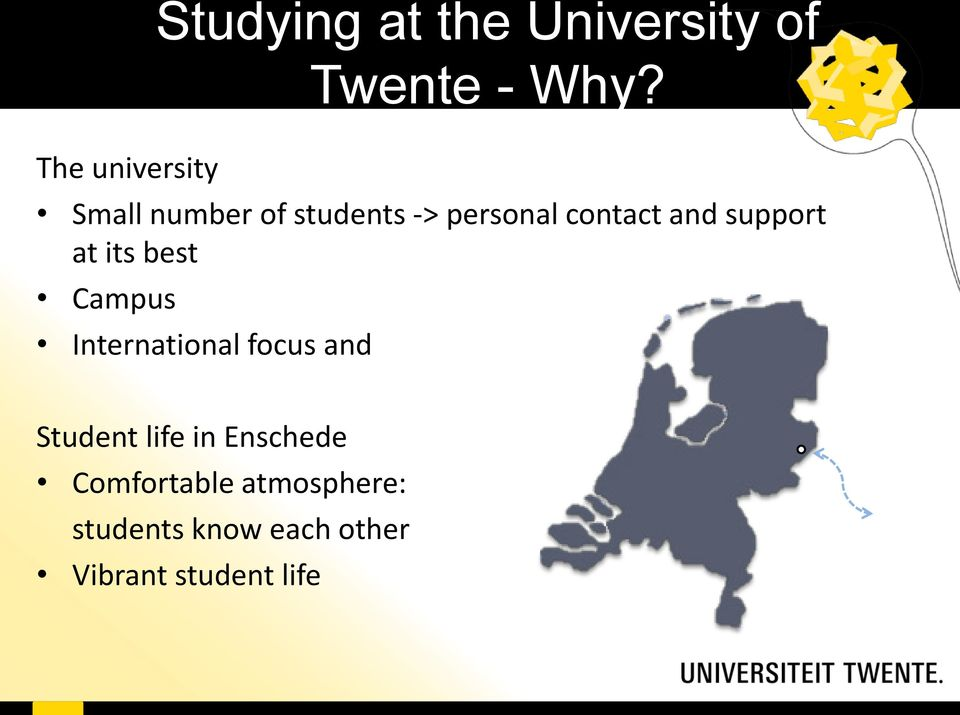 best Campus International focus and Student life in Enschede