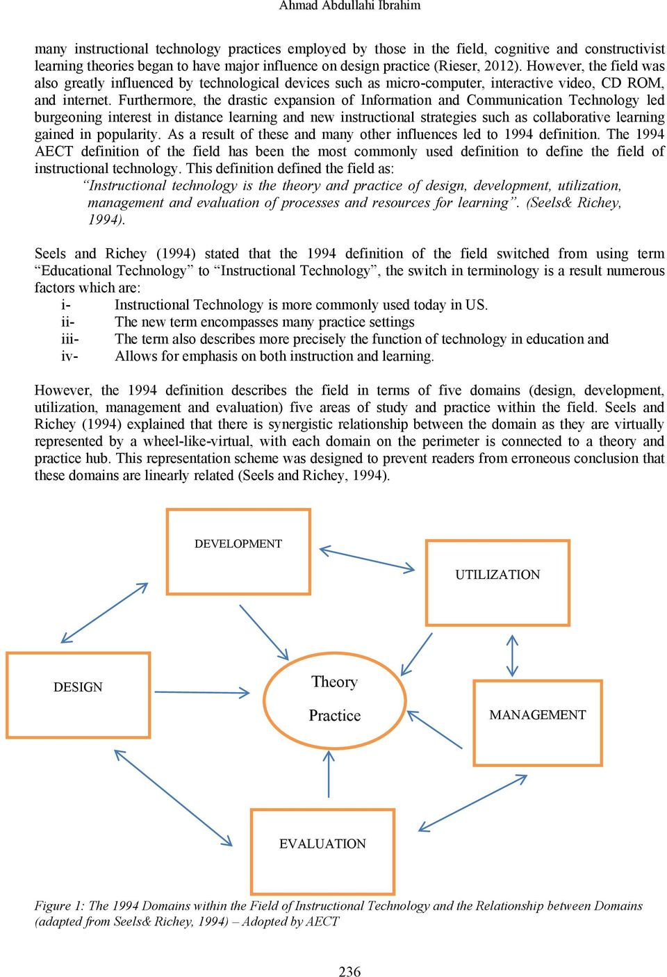 Evolutionary Nature Of The Definition Of Educational Technology Pdf