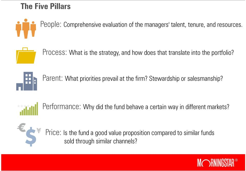 Parent: What priorities prevail at the firm? Stewardship or salesmanship?