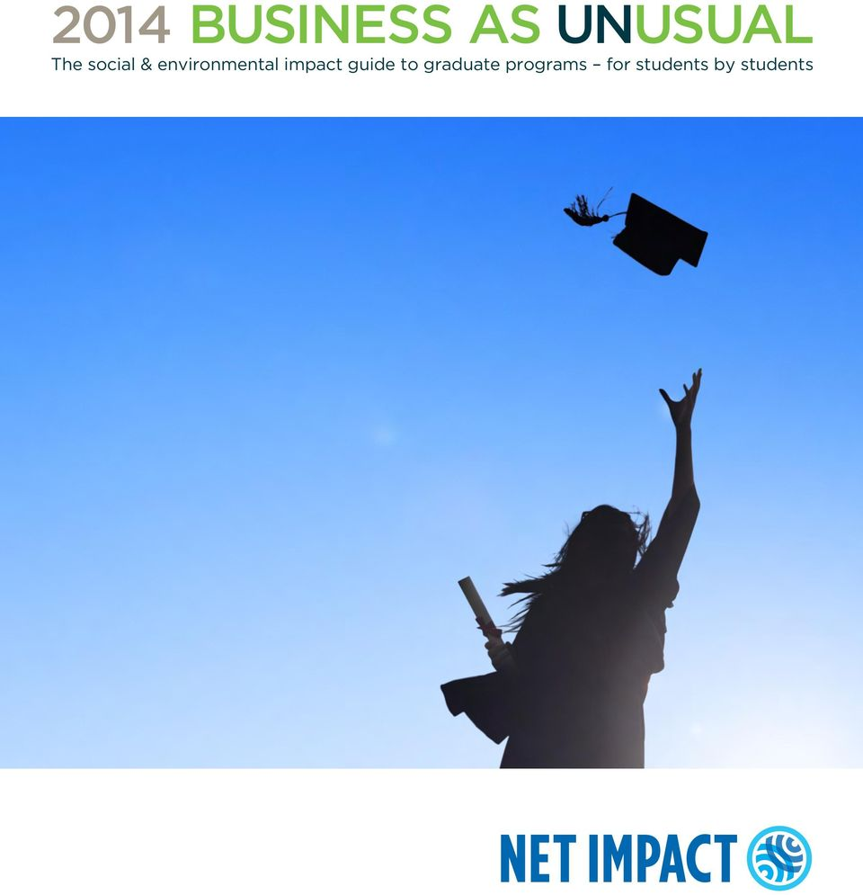 impact guide to graduate