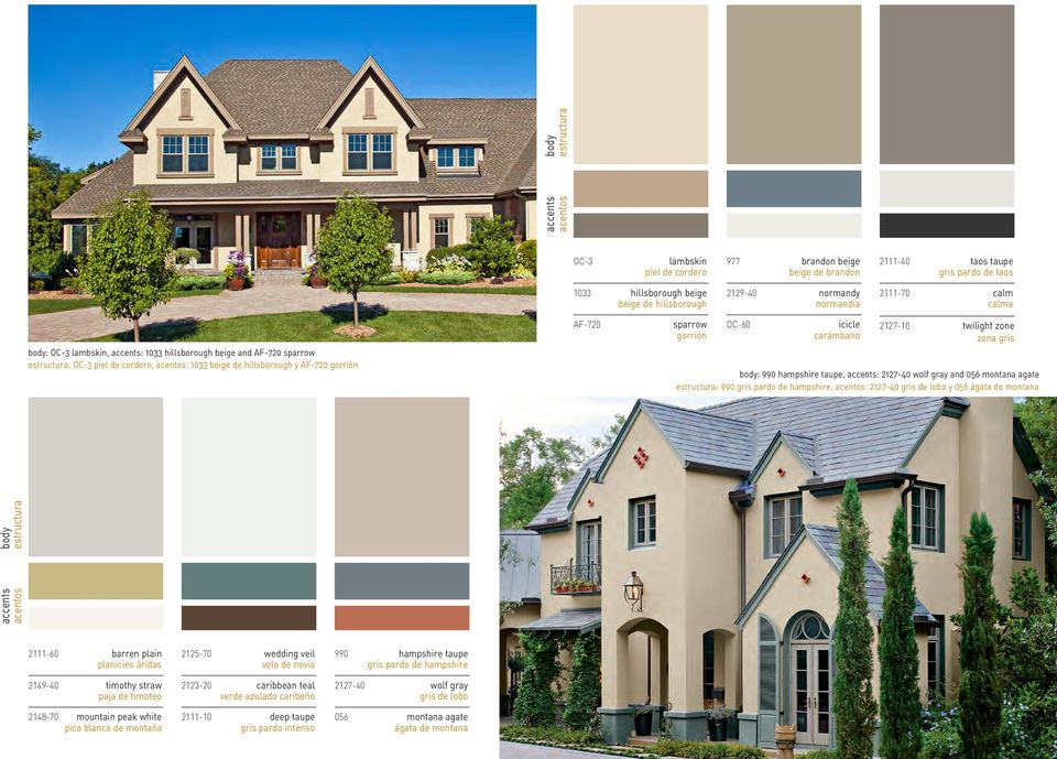 twilight zone zona gris : 990 hampshire taupe, accents: 2127-40 wolf gray and 056 montana agate : 990 gris pardo de hampshire, : 2127-40 gris de lobo y 056 ágata de montana accents 2111-60 barren