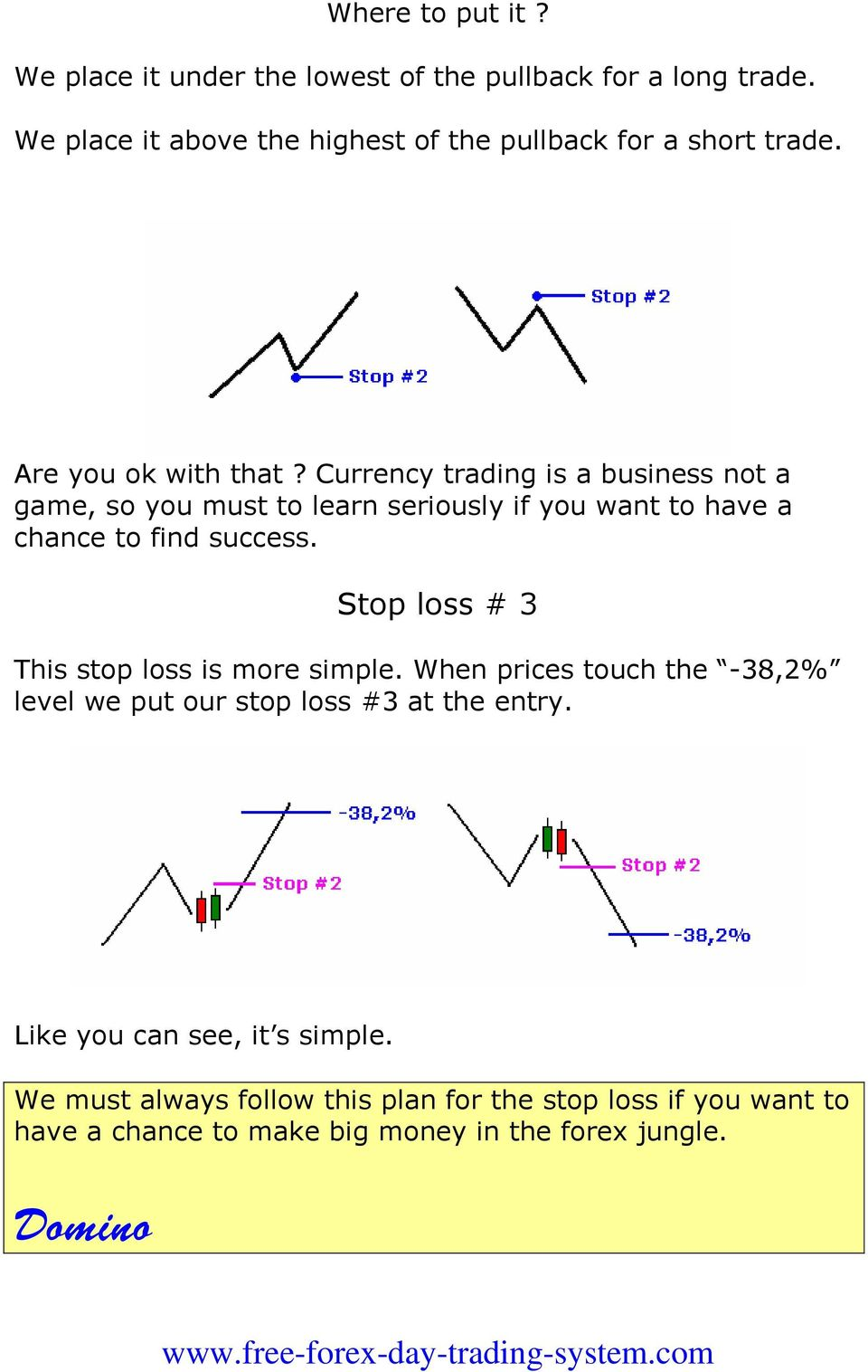 Currency trading is a business not a game, so you must to learn seriously if you want to have a chance to find success.