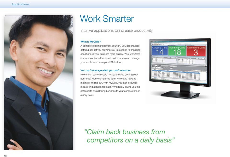 Your workforce is your most important asset, and now you can manage your whole team from your PC desktop.