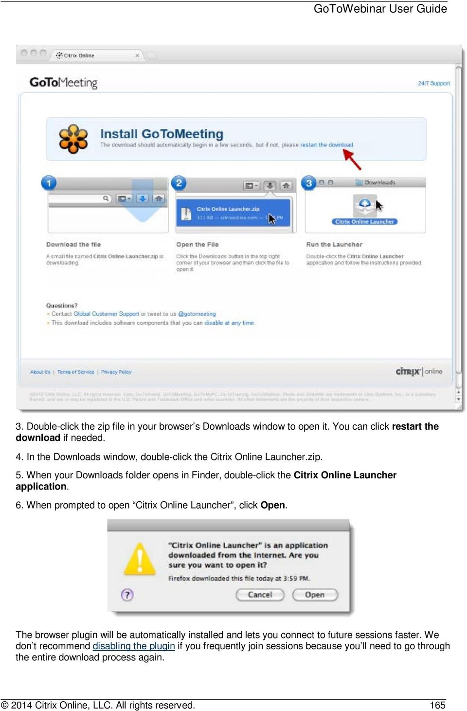 citrix online launcher gotomeeting Let your users log in to citrix gotomeeting, gotowebinar, or gototraining using navigate to , and log in as an and icon to represent your citrix application in the salesforce app launcher.