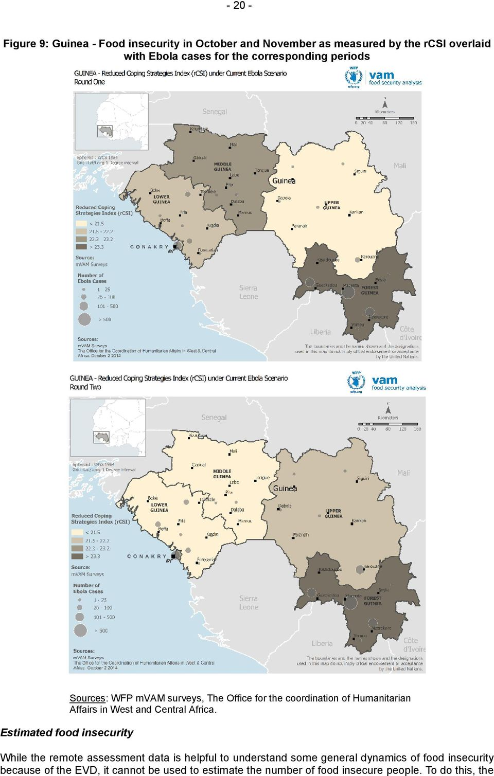Humanitarian Affairs in West and Central Africa.