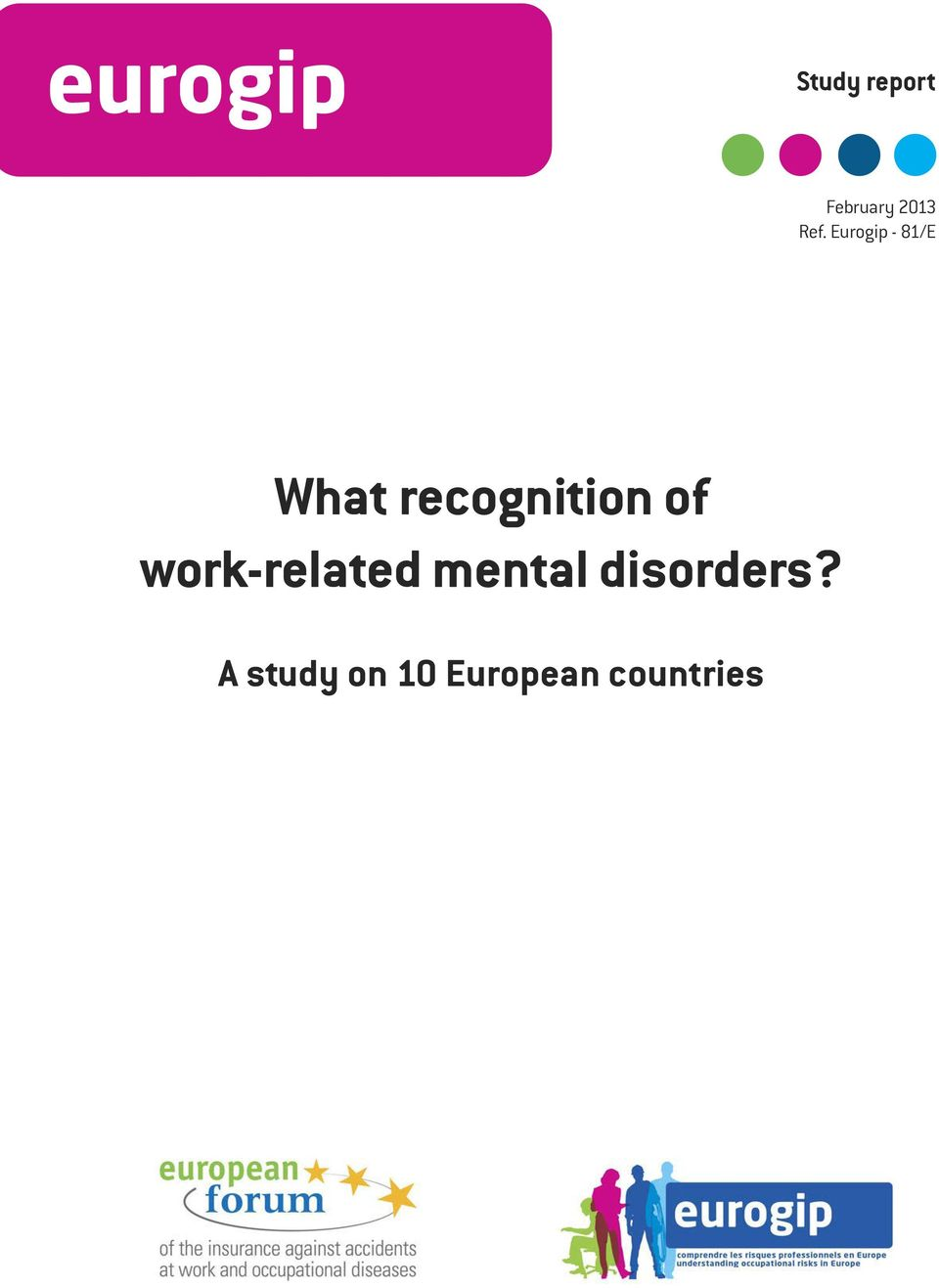 recognition of work-related mental