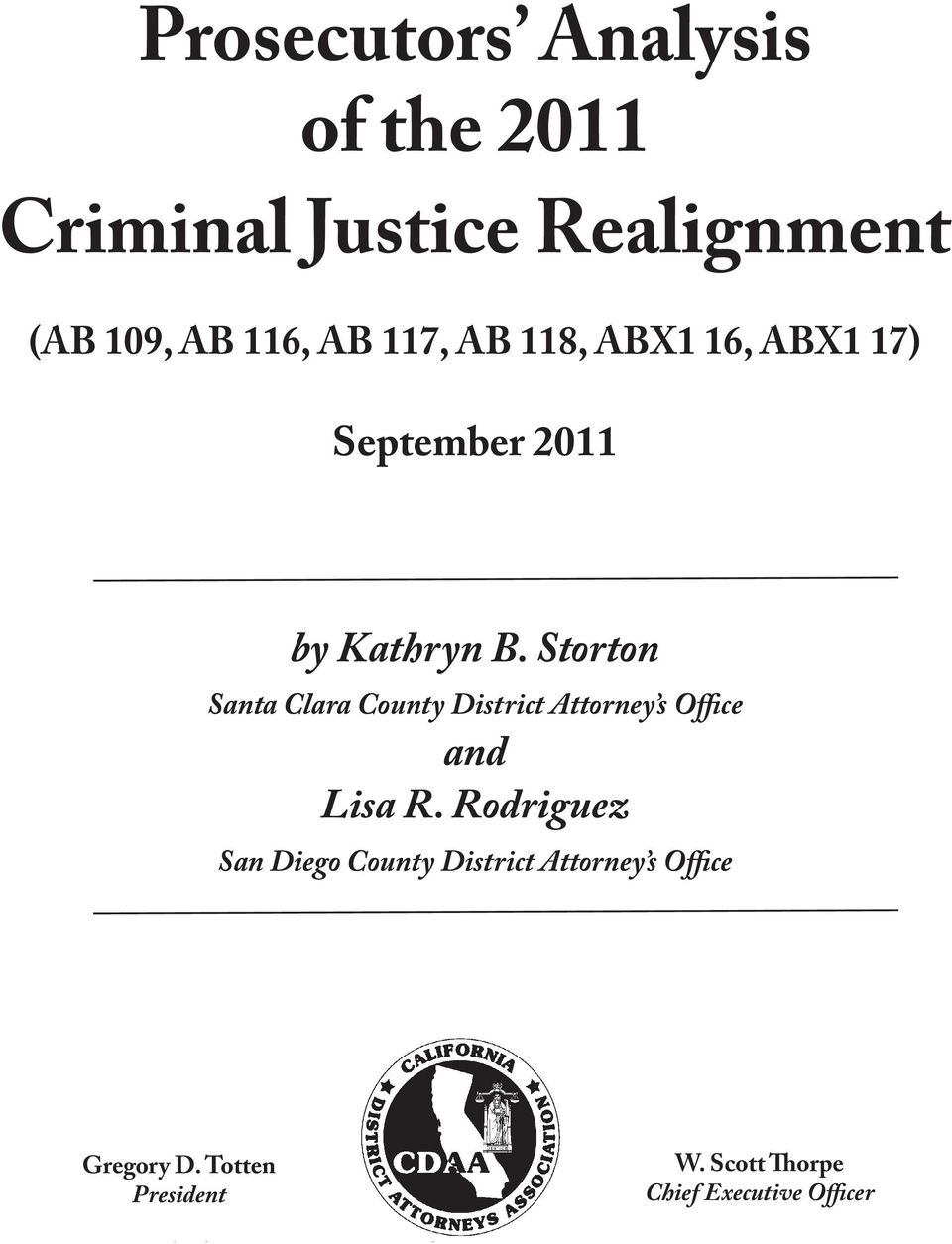 Storton Santa Clara County District Attorney s Office and Lisa R.