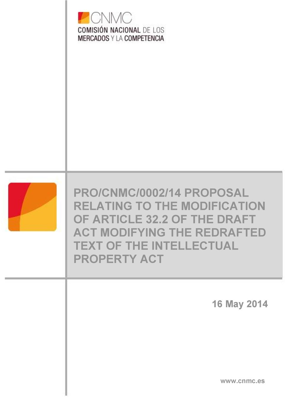 2 OF THE DRAFT ACT MODIFYING THE REDRAFTED