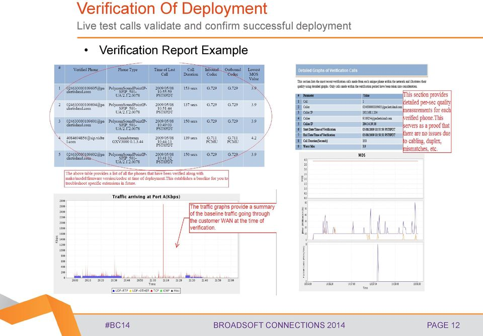 deployment Verification Report Example