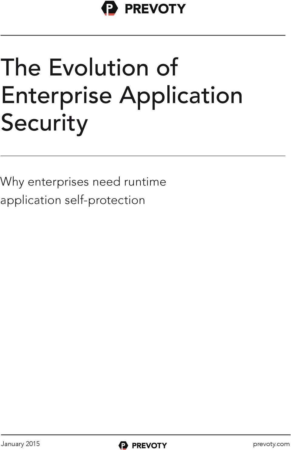 Security Why enterprises