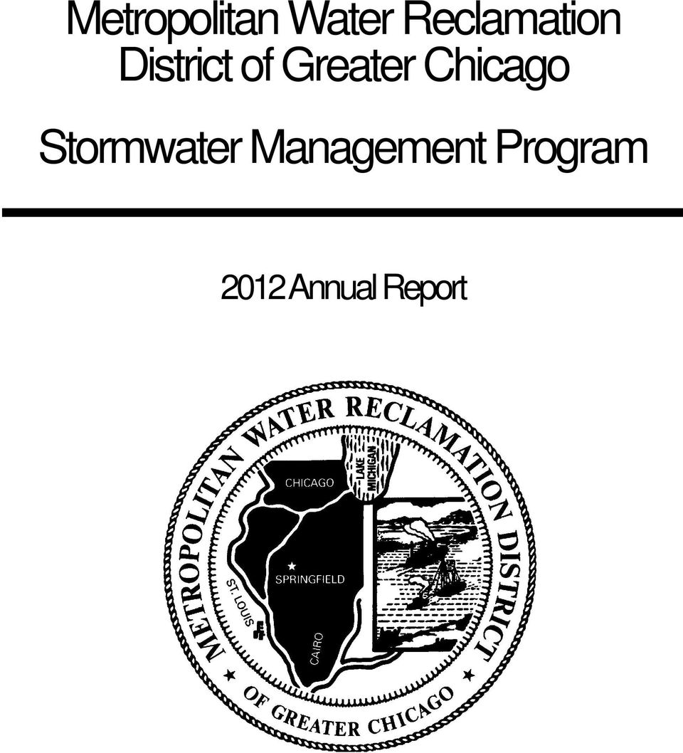 Greater Chicago Stormwater