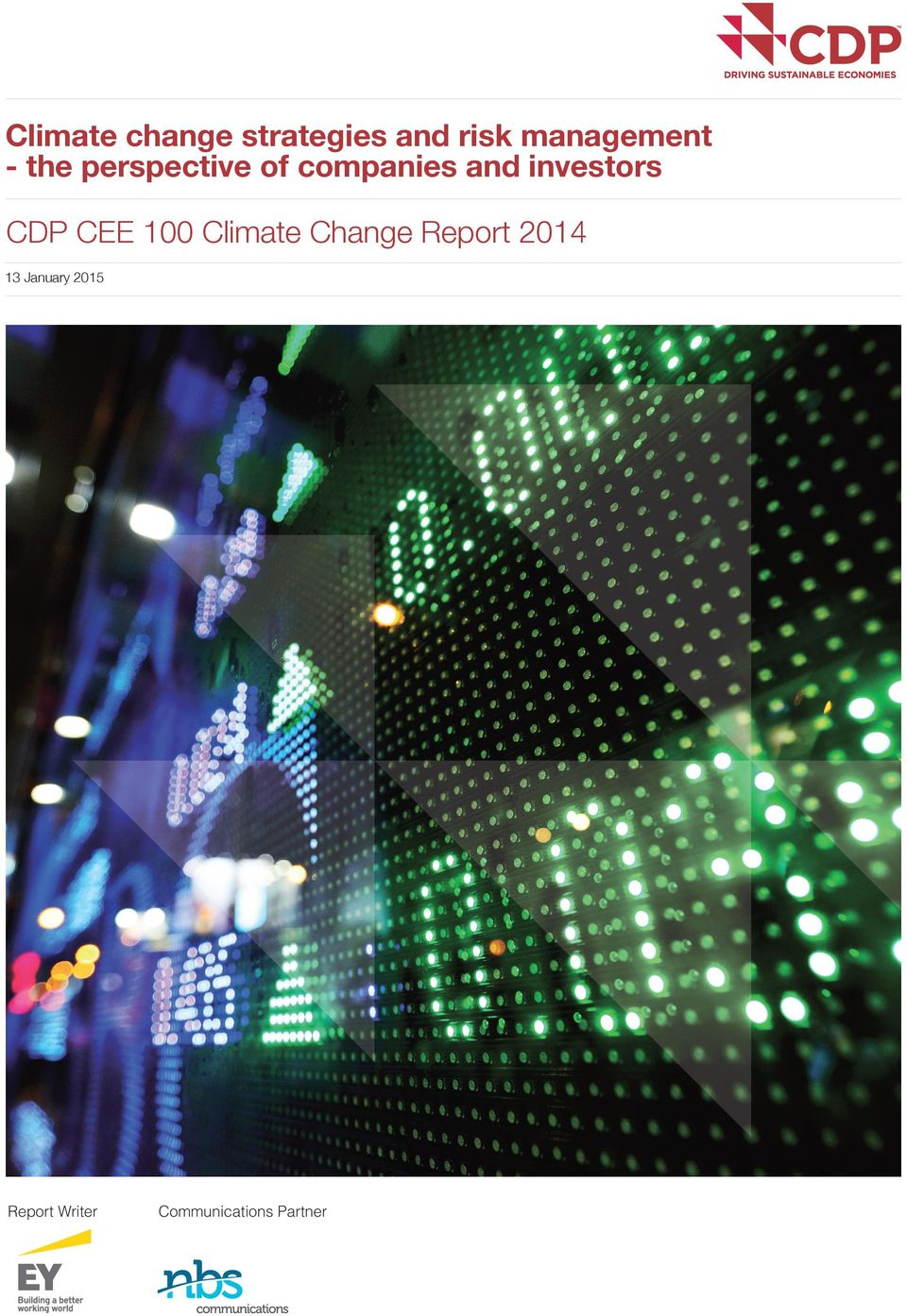 investors CDP CEE 100 Climate Change Report
