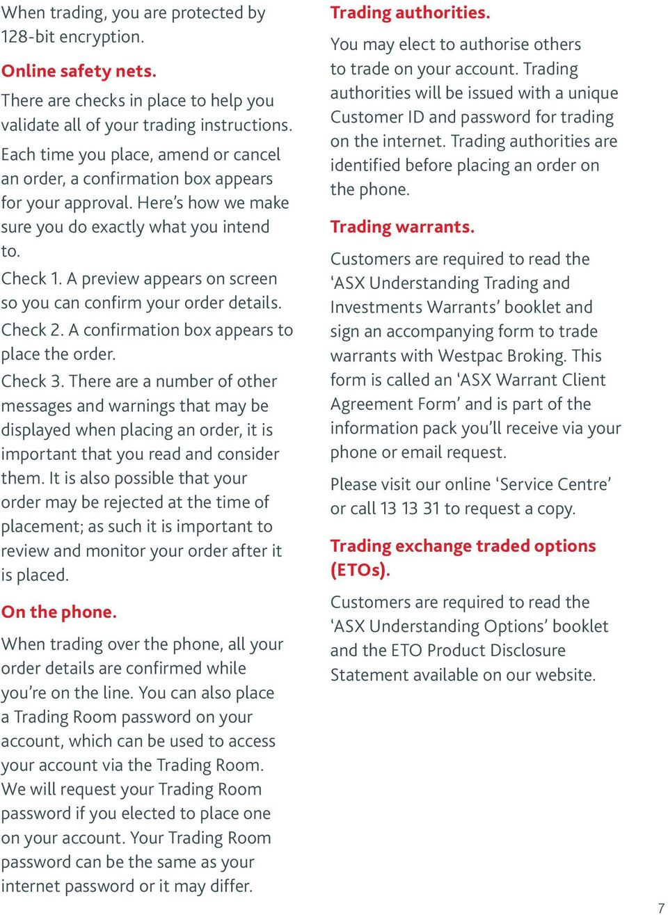 Asx explanatory booklet understanding options trading