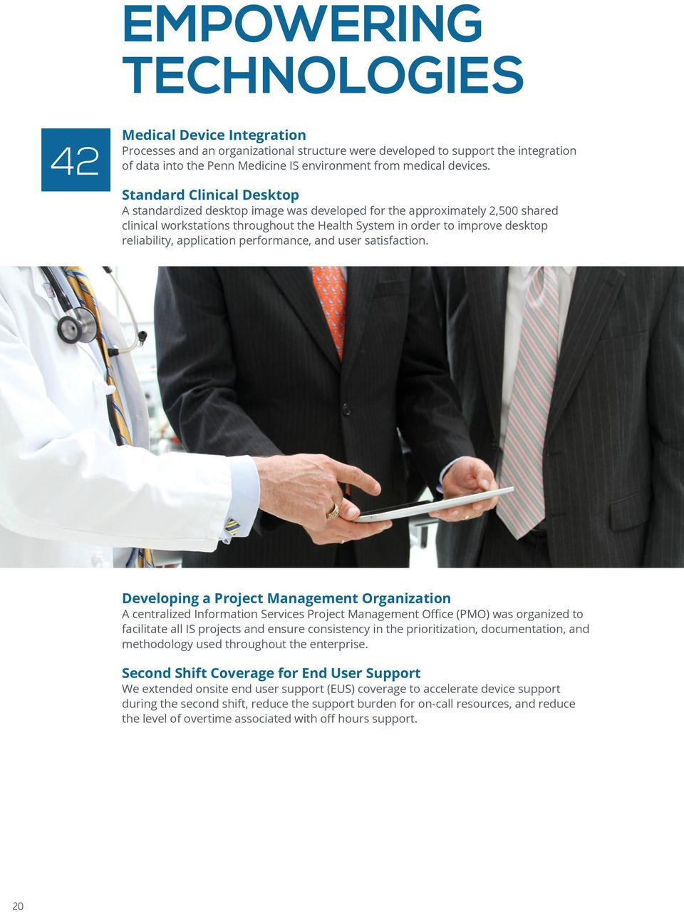 THE STATE OF PENN MEDICINE CORPORATE INFORMATION SERVICES
