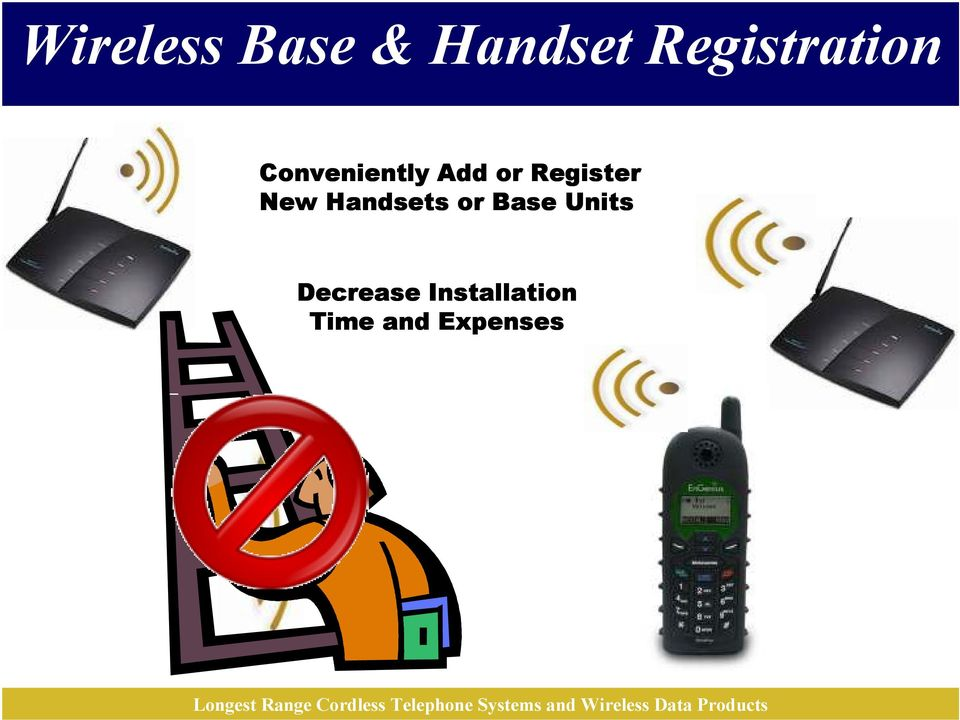 Register New Handsets or Base