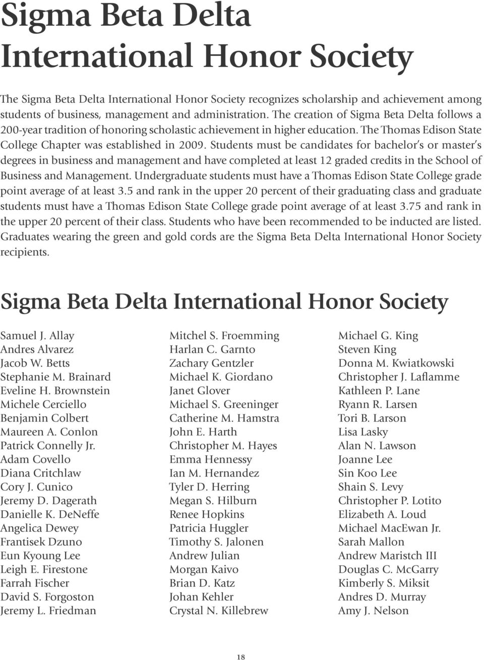 honor society pledges pdf students must be candidates for bachelor s or master s degrees in business and management and