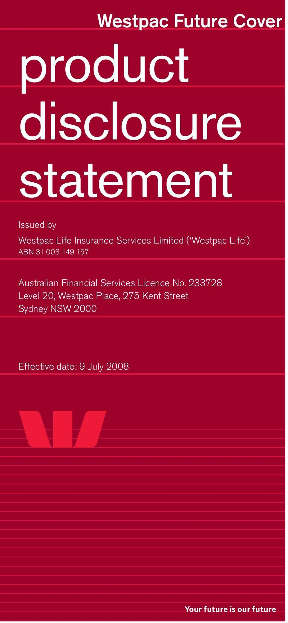Financial Services Licence No.