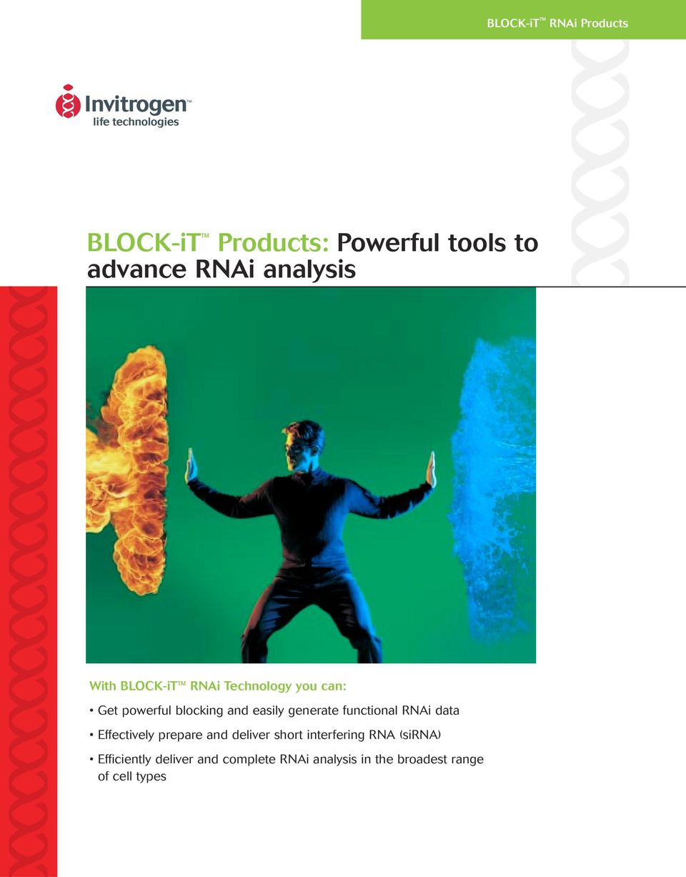 functional RNAi data Effectively prepare and deliver short interfering RNA