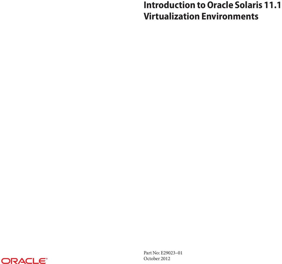 1 Virtualization