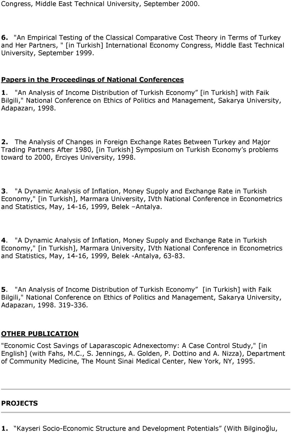 Papers in the Proceedings of National Conferences 1.