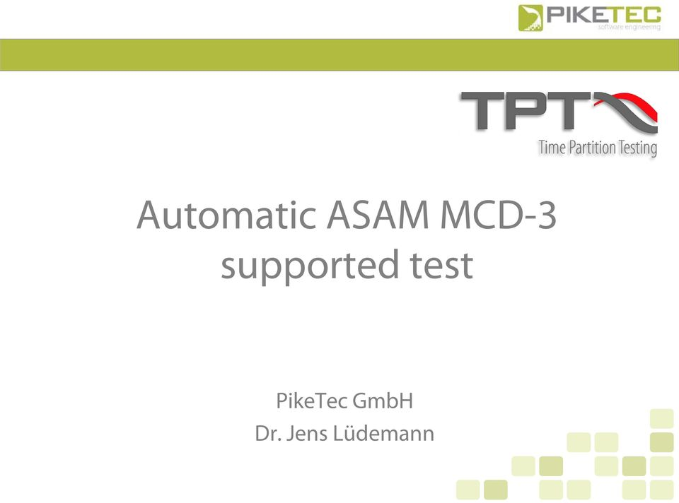 test PikeTec