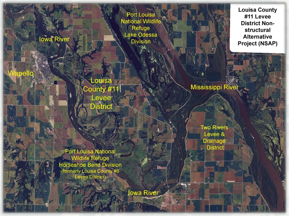 District Mississippi River Port Louisa National Wildlife Refuge Horseshoe Bend Division