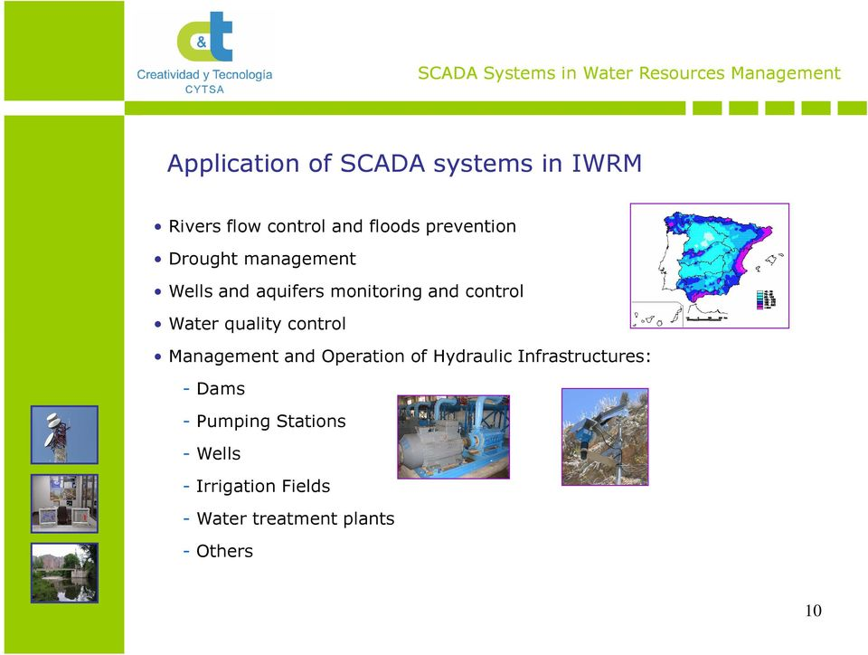 Water quality control Management and Operation of Hydraulic Infrastructures: