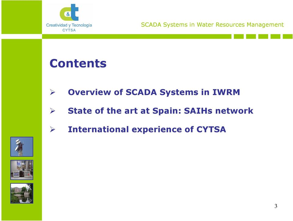 art at Spain: SAIHs network