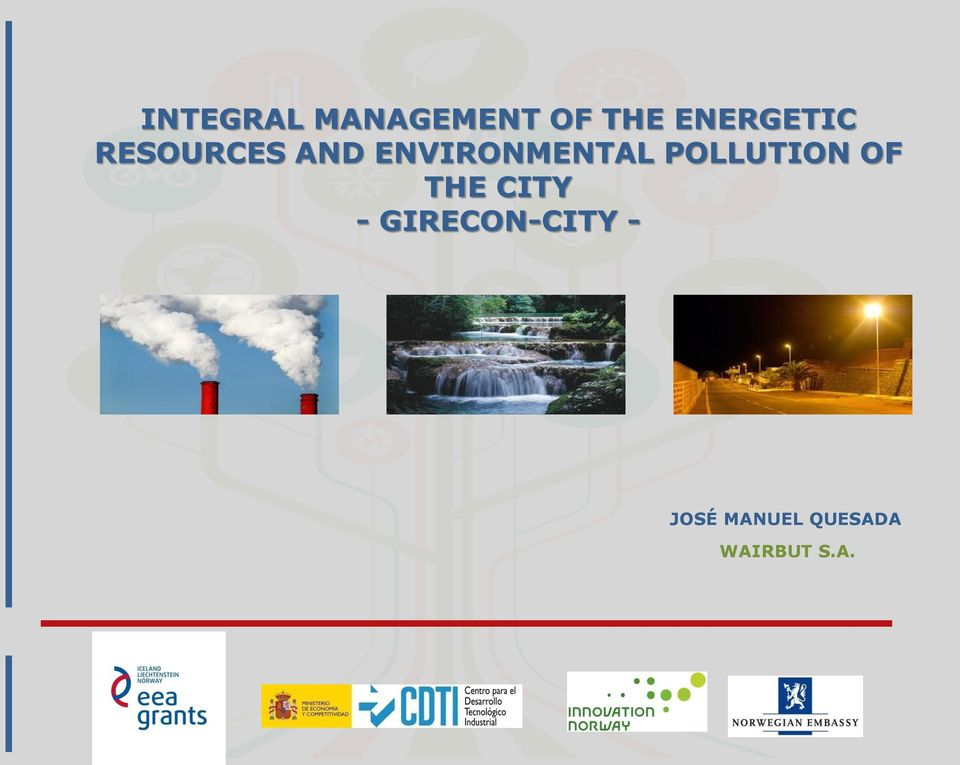 ENVIRONMENTAL POLLUTION OF THE