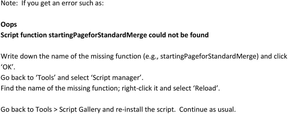 Go back to Tools and select Script manager.