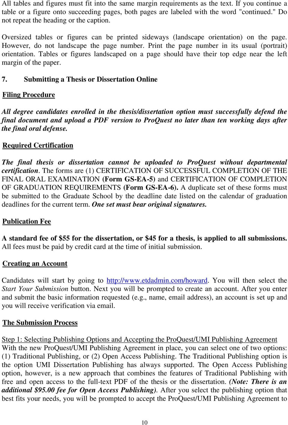 proquest umi dissertation publishing address Thesis and dissertation permission and contact to be consistent with guidelines for publishing electronic theses and dissertations through proquest/umi.
