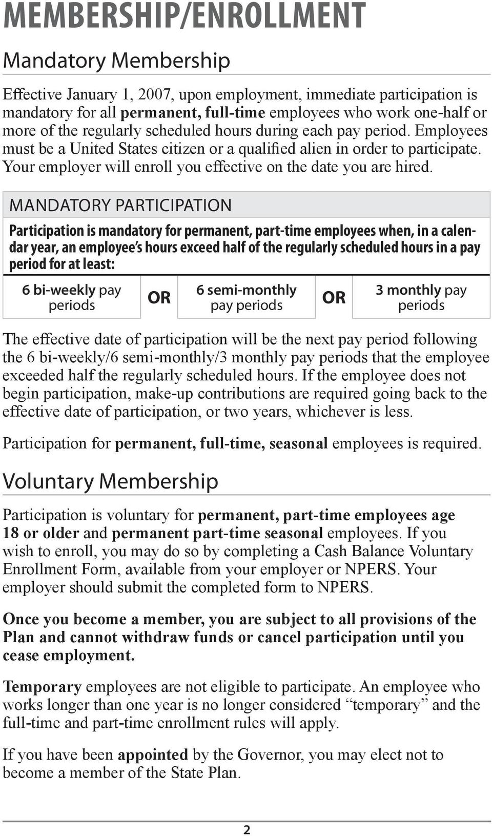 Your employer will enroll you effective on the date you are hired.
