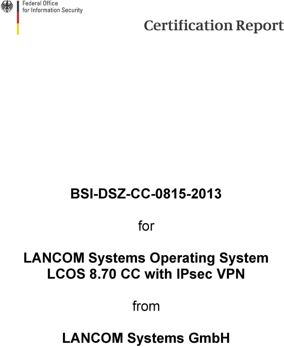 System LCOS 8.