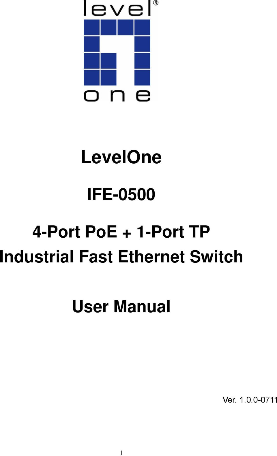 Industrial Fast Ethernet