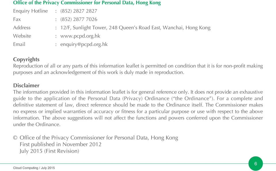 hk Email : enquiry@pcpd.org.