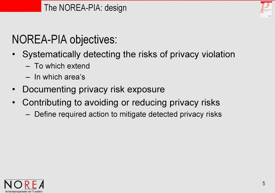 privacy risk exposure Contributing to avoiding or reducing