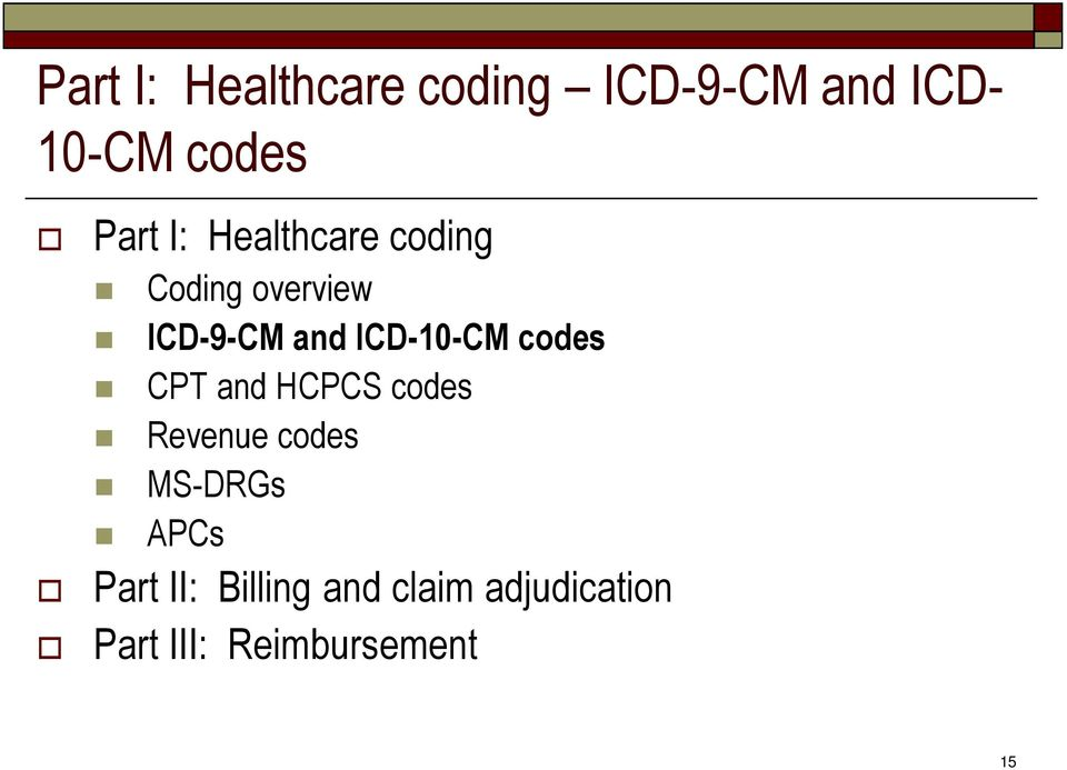 How does hipaa icd cpt and hcpcs influence medical billing