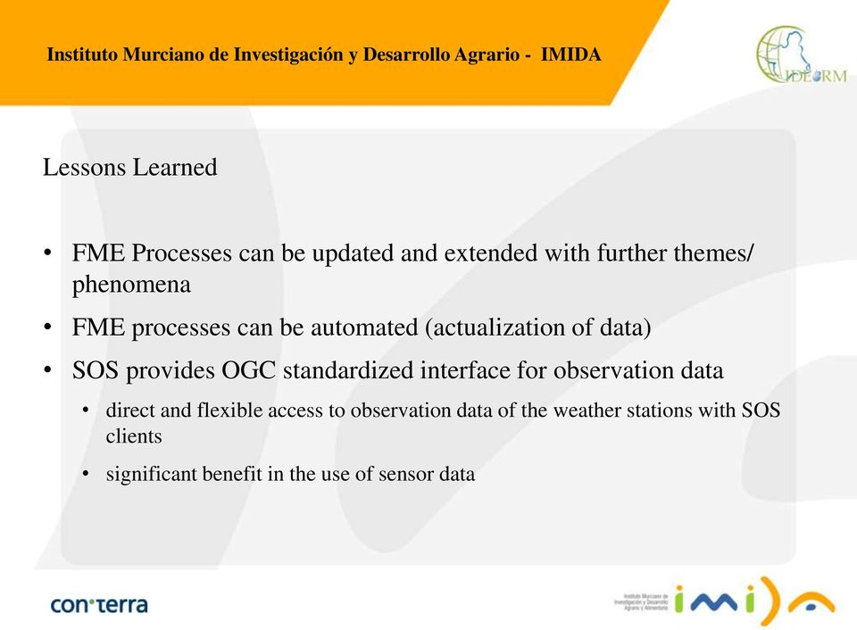 standardized interface for observation data direct and flexible access to