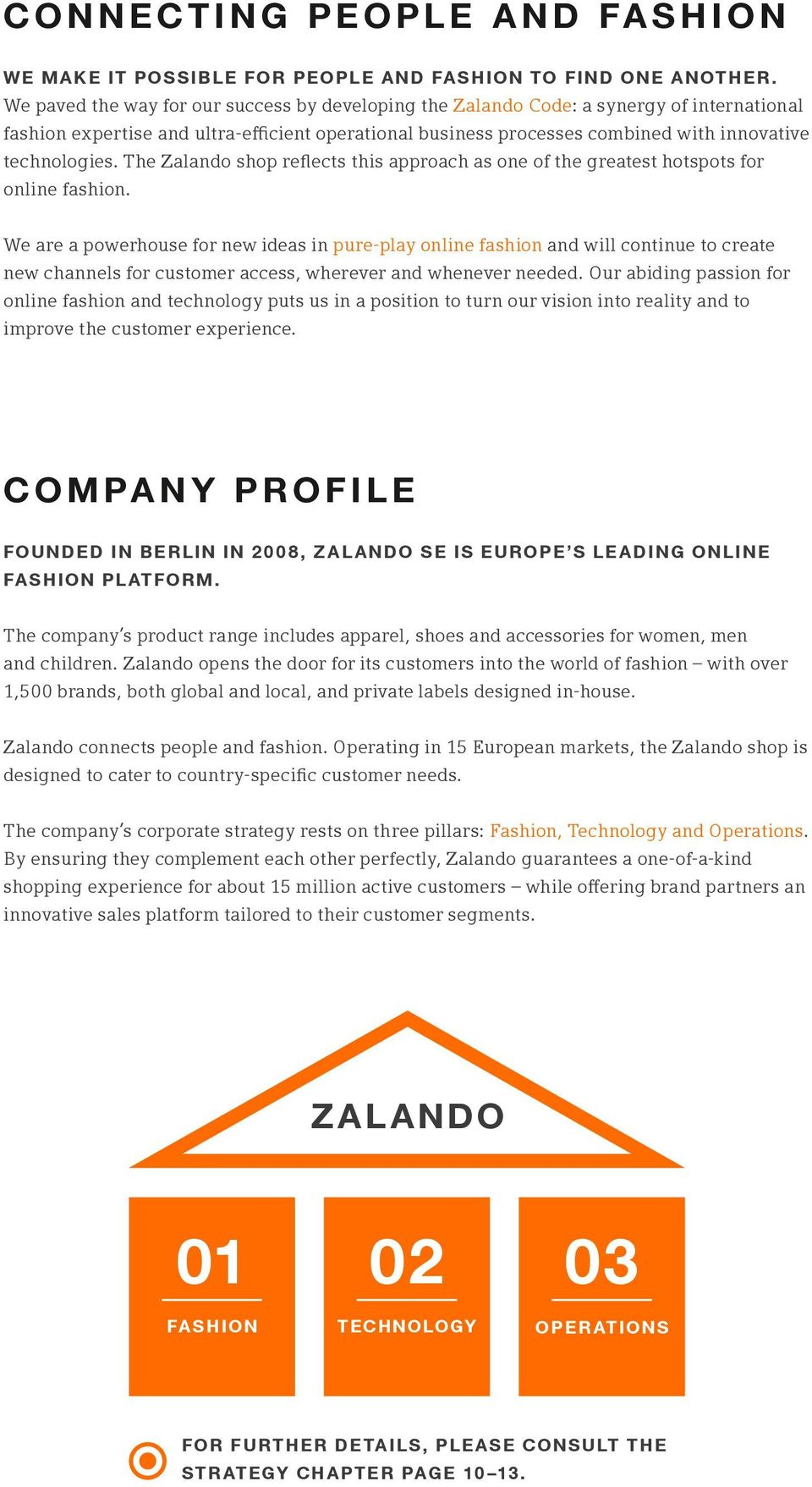 The Zalando shop reflects this approach as one of the greatest hotspots for online fashion.
