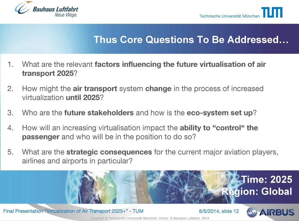 Who are the future stakeholders and how is the eco-system set up? 4.
