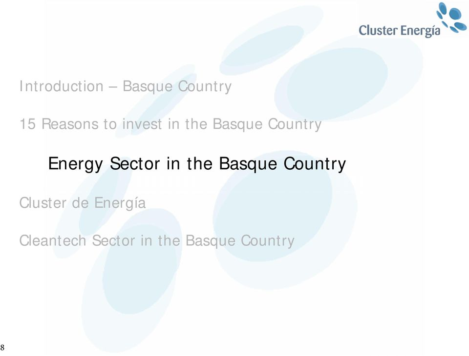 Sector in the Basque Country Cluster de