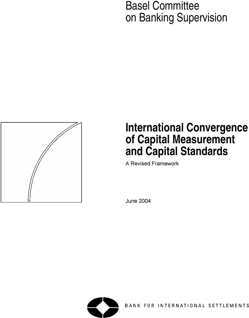 Convergence of Capital Measurement